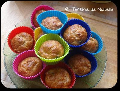 Mini muffins au poulet