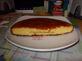 Cake à la noix de coco.
