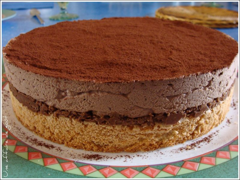 Recette gâteau royal au chocolat