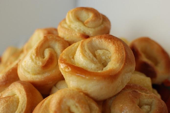 Briochettes à la crème d'orange irrésistibles!