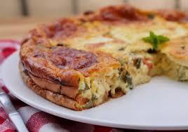 Clafoutis courgettes tomates mozzarella délicieux