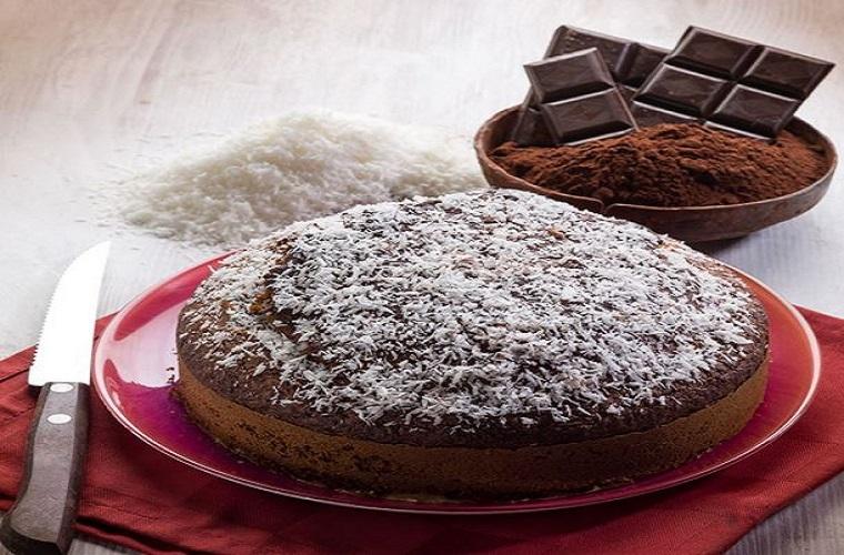 Gâteau chocolat et coco iirrésistible!