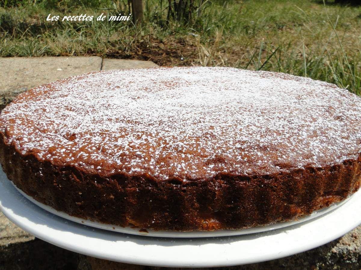 Gâteau Breton pommes et confiture de lait