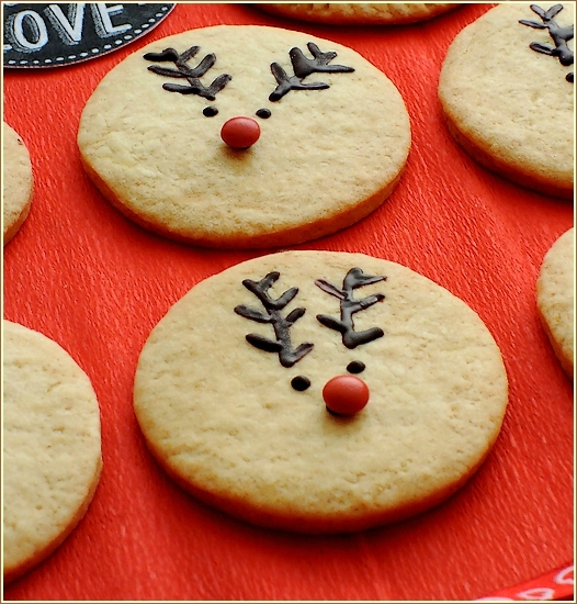 Biscuits Rodolphe le renne