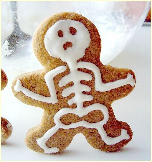 Squelettes en pain d'épice